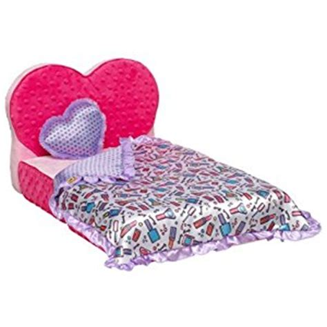 build a bear bed amazon com build a bear workshop beauty sleep bed set 3