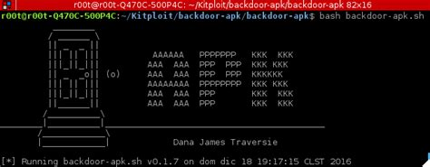 pentest apk backdoor apk shell script that simplifies the process of adding a backdoor to any android apk