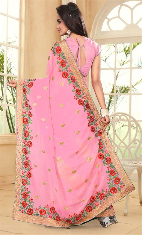 design hoodie online india designer indian bollywood women georgette sari party wear