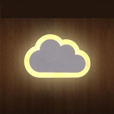 children room cloud novelty lighting wall light  kids