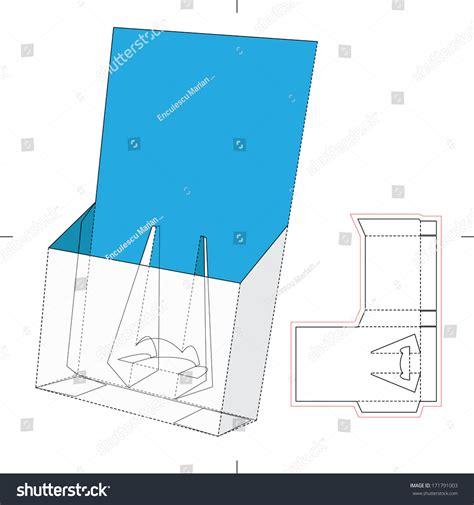 vector board layout tray display board blueprint layout stock vector 171791003