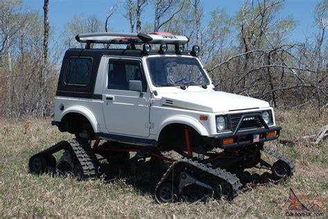 Jeep Samurai Suzuki Samurai Snowcat Jeep Rockcrawler 4x4 Lifted Tracks
