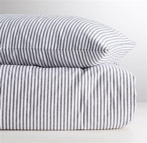 ticking stripe bedding garment dyed ticking stripe duvet cover