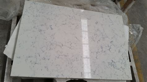 Carrara Quartz Countertop by China Carrara White Quartz For Kitchen Countertop Photos