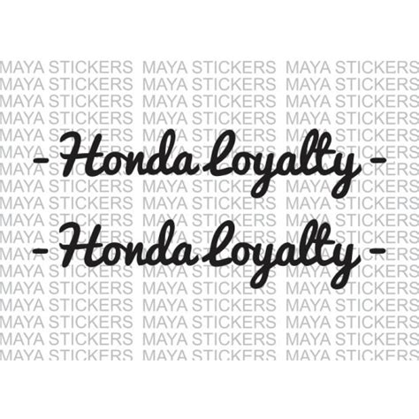 Honda Lead Sticker by Honda Loyalty Custom Stickers For Bikes And Cars