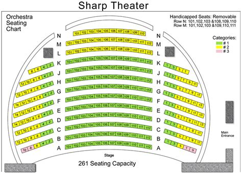 seat contact number shea s performing arts seating chart with seat numbers