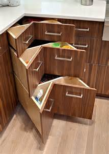 How Make Kitchen Cabinets 30 corner drawers and storage solutions for the modern kitchen