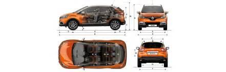 Renault Captur Dimensions Renault Captur Sizes And Dimensions Guide Carwow
