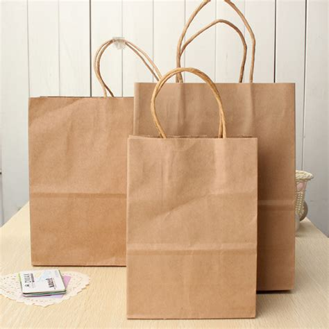 Paper Bags At Home - brown kraft paper bag paper carrier bags recyclable paper