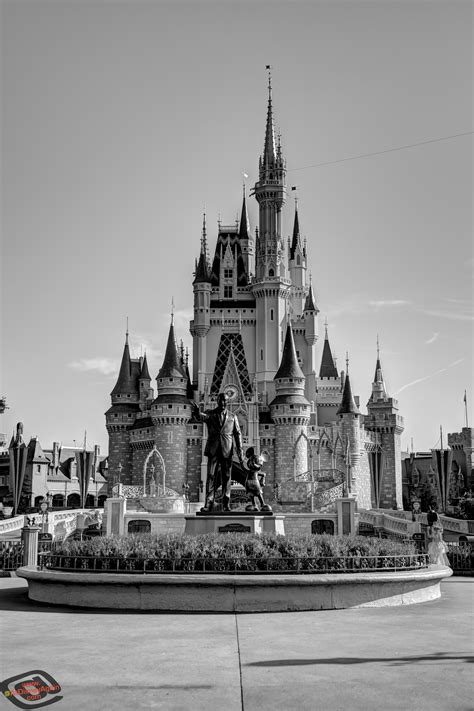 disney wallpaper black and white black and white cinderella castle www imgkid com the