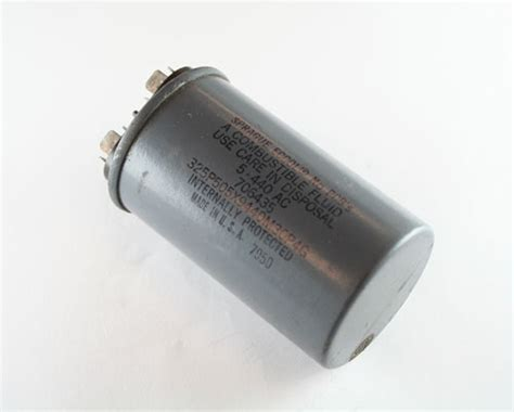applications of capacitor motor 325p505x9440m30p4g sprague capacitor 5uf 440v application motor run 2020005910