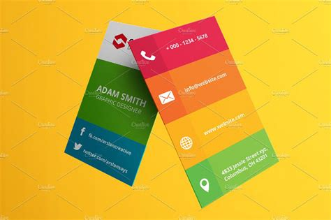39 Social Media Business Card Templates Free Premium Download Social Media Card Template Free