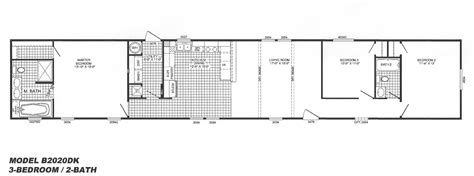 house design and plans 3 bedroom floor plan b 2020 hawks homes manufactured