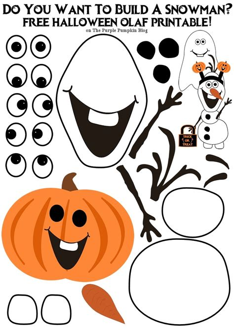 what do you need to build a house do you want to build an olaf halloween edition