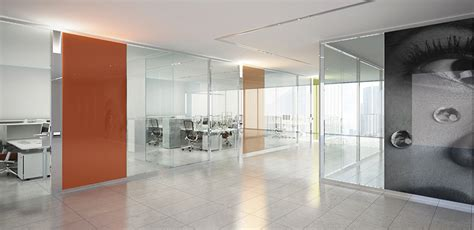 Furniture Layout esedra glass office demountable partitioning system by