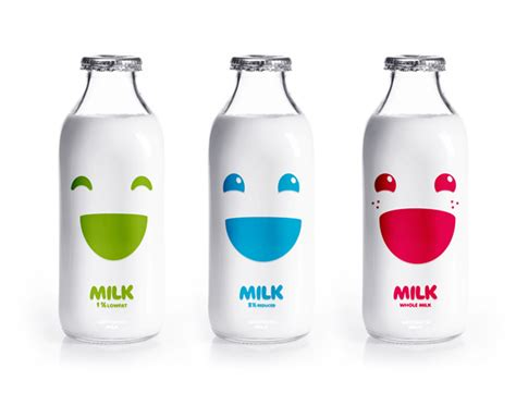 design of milk bottle milk packaging designs for inspiration graphicloads