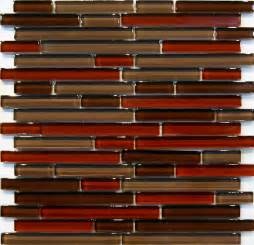 Red Glass Tile Kitchen Backsplash by Glass Mosaic Tile Backsplash Ideas