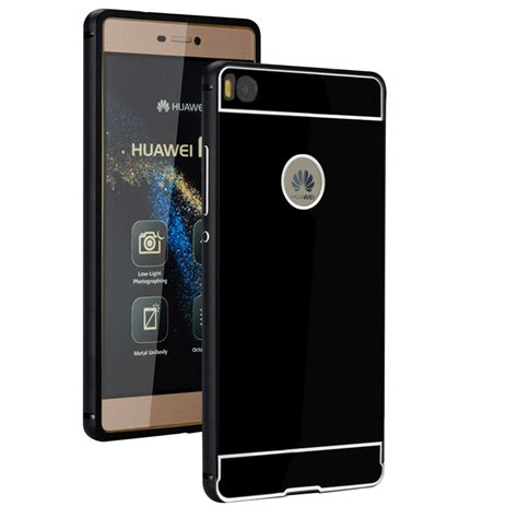 Casing Hp Huawei P8 Lite How To Your Custom Hardcase Cove aluminum metal bumper pc mirror back cover for huawei ascend p8 p9 lite ebay