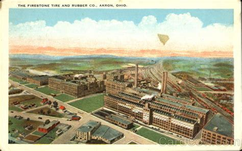 Firestone Tire And Rubber Company Stock by The Firestone Tire And Rubber Co Akron Oh
