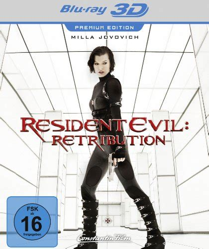 gute 3d filme für zuhause resident evil retribution premium edition 3d