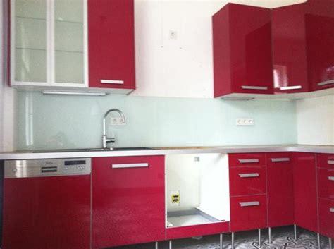 ikea küche l form faktum kuche abstrakt rot die neueste innovation der