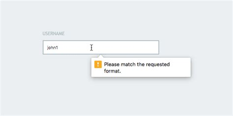 knockout validation pattern message html5 form validation with the pattern attribute