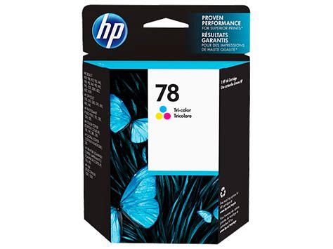 Hp Tinta Printer 78 Tri Colour hp 78 tri color original ink cartridge hp 174 official store