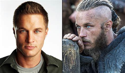 ragnar lodbrok barbe viking ragnar coupe de cheveux
