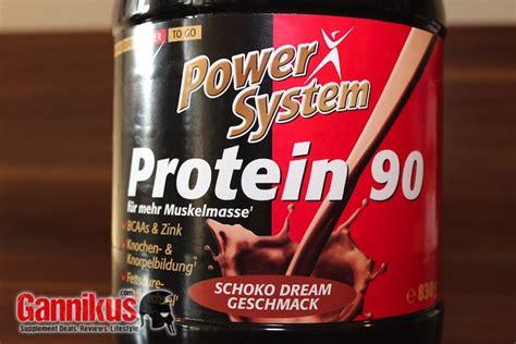 protein 90 review power system protein 90 im test gannikus