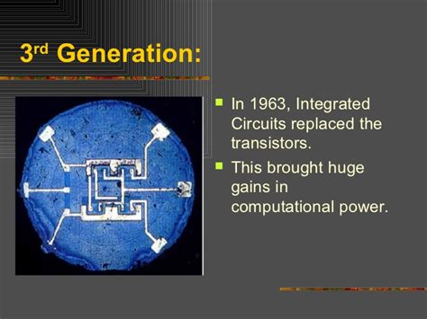 integrated circuits replaced transistors integrated circuits rapidly replaced transistors 28