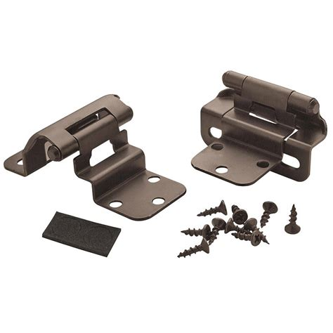 3 8 inset partial wrap cabinet hinges amerock decorative cabinet and bath hardware bpr7565orb