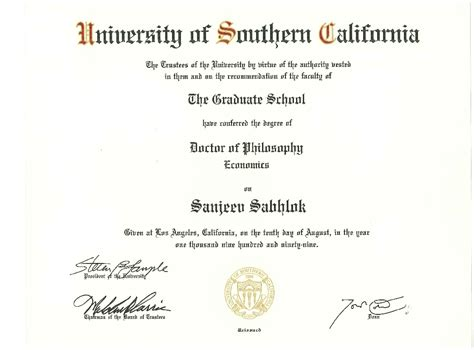 Usc Dpt Mba by Doctorate Degrees Usc Doctorate Degrees