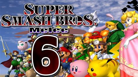 lets play smash bros melee part 6 home run