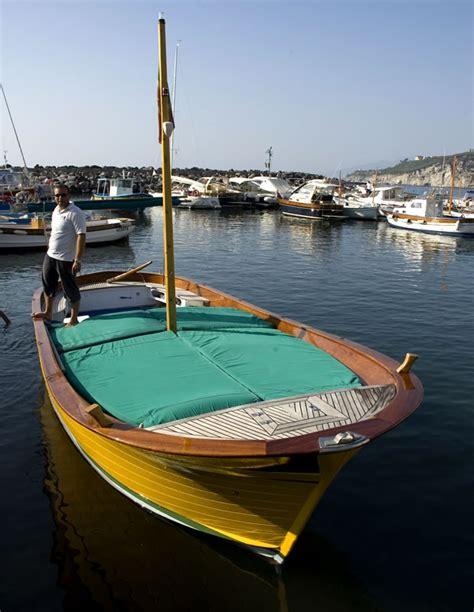 wooden boat rental gozzo typical sorrento boat coop marina della lobra