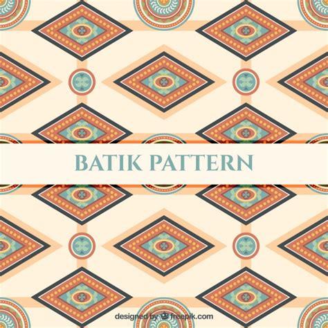 batik pattern free download pattern of batik geometric shapes vector free download