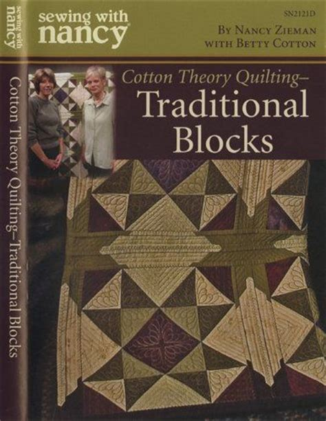 Betty Cotton Quilt As You Go by Sewing With Nancy Cotton Theory Quilting Traditional