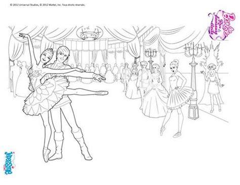 Coloriage Barbie Reve De Danseuse Etoile Coloriage S Coloriage DanseuseL