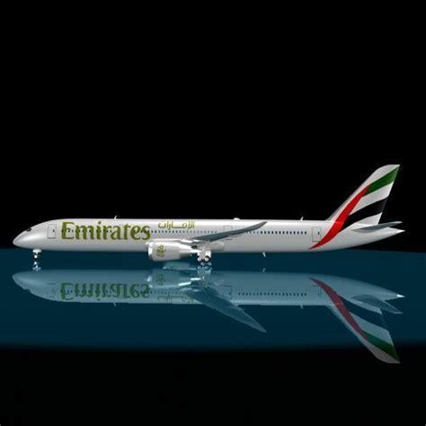 emirates   dreamliner  model max cgtradercom