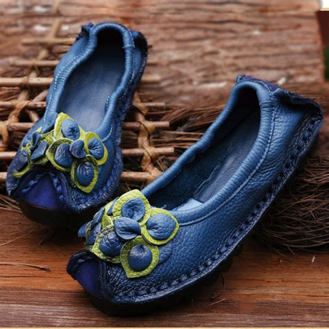 Handmade Leather Shoes Bandung - original handmade autumn genuine leather shoes