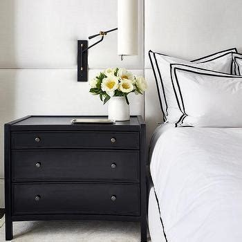 white and black headboard black headboard design ideas