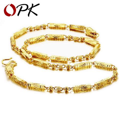 aliexpress buy opk jewellery top quality gold color