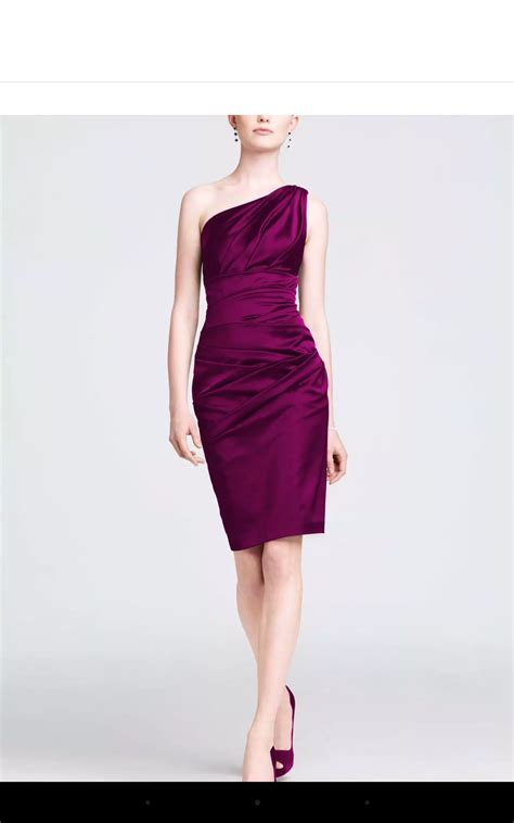 wine color dress wine colored bm dresses shoes and accessories