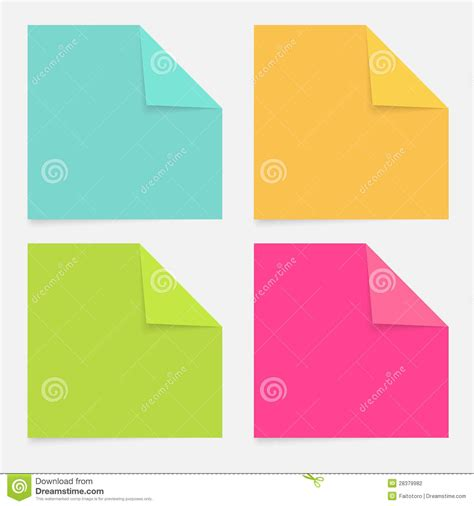color notepad color notepad stock photography image 28379982