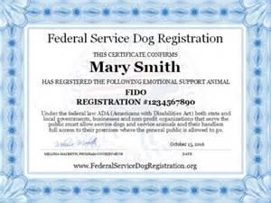 Housing Certification Letter Emotional Support Animal Standard Vest Complete Package