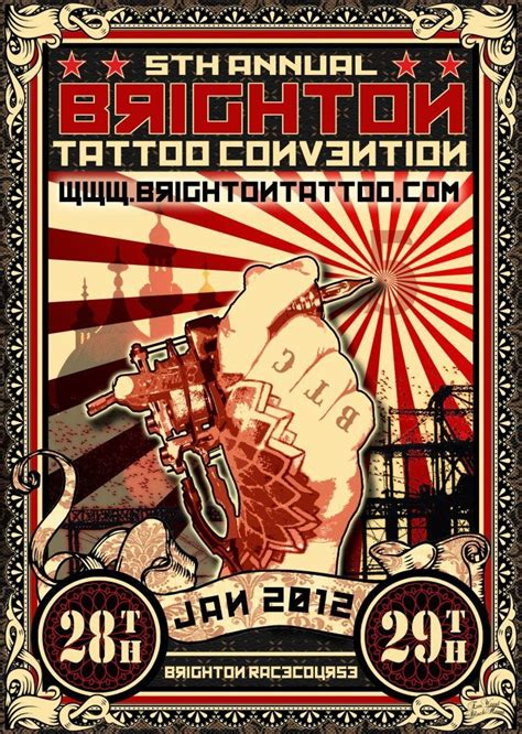 tattoo art prints the brighton convention goes russian propaganda