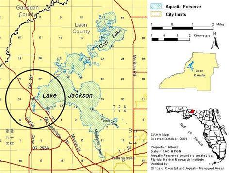 where is lake jackson on map us 27 causeway