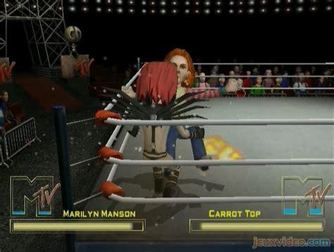 celebrity deathmatch xbox one gameplay mtv celebrity deathmatch marilyn manson vs
