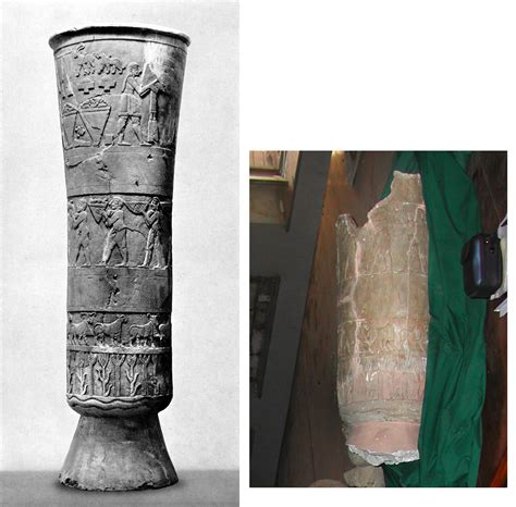 Cylindrical Vase Oriental Institute Continues To Support Search For Missing