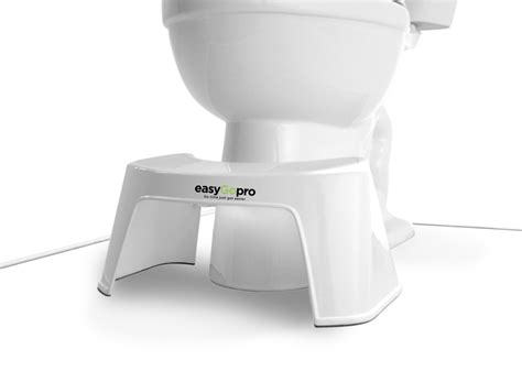 Go Stool by Easy Go Pro Toilet Stool White Ayurvedic Herbs Products
