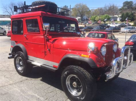 Top Jeep For Sale 1972 Cj 5 V8 Top Classic Jeep Cj 1972 For Sale